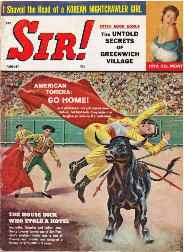 Sir! Magazine (August, 1960)