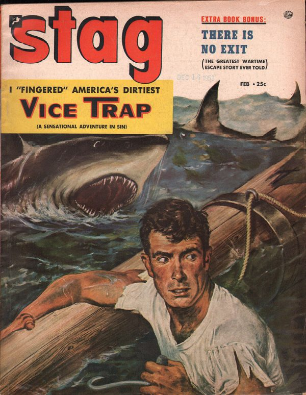 Stag Magazine February 1954