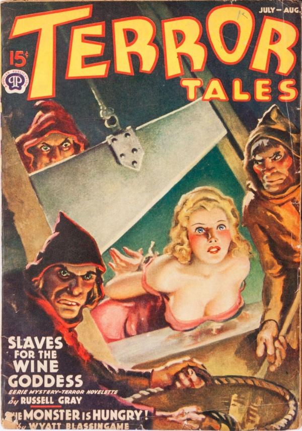 Terror Tales July-August 1939