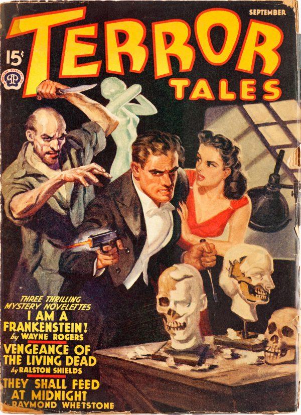 Terror Tales Magazine - September 1940