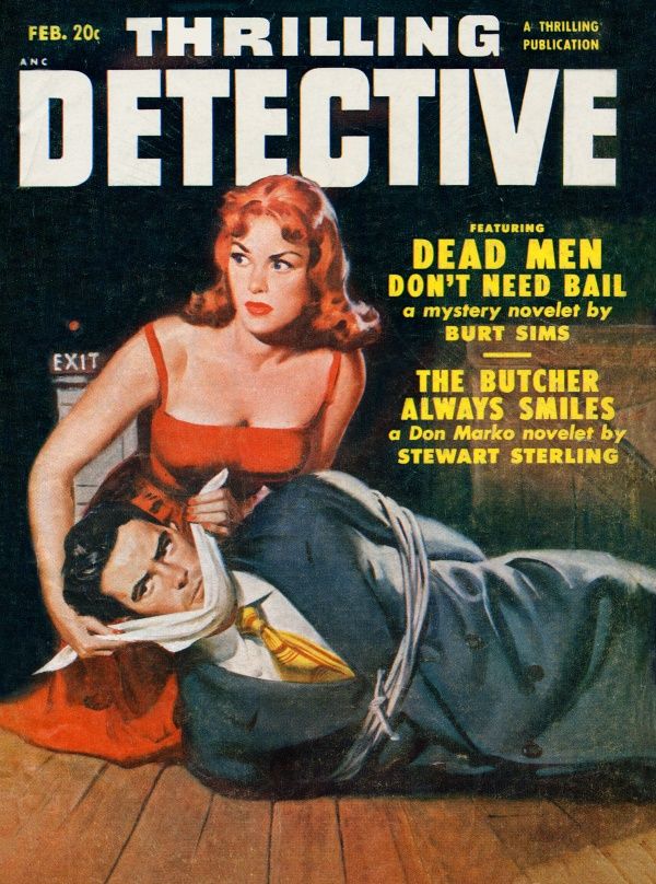 Thrilling Detective February 1951