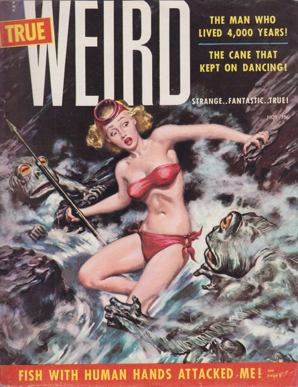 True Weird - Vol.1 No.1 - November 1955