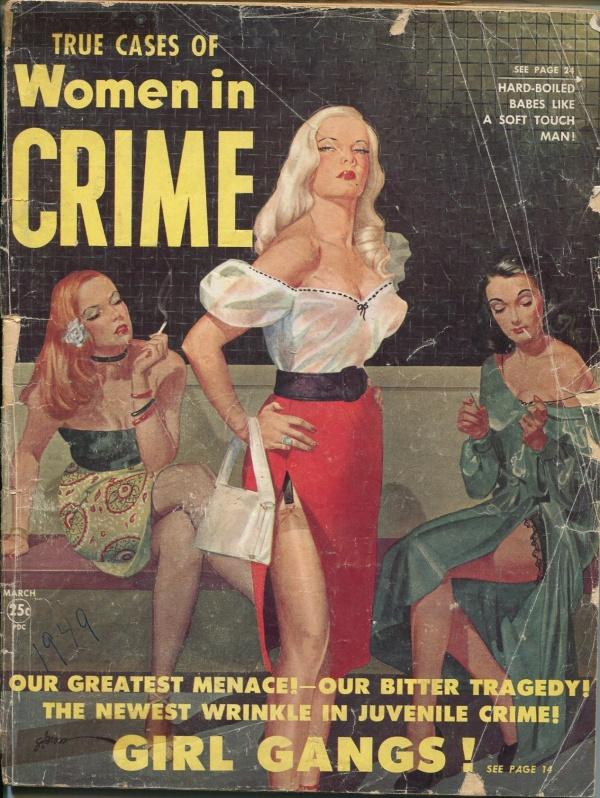 Women In Crime February 1949
