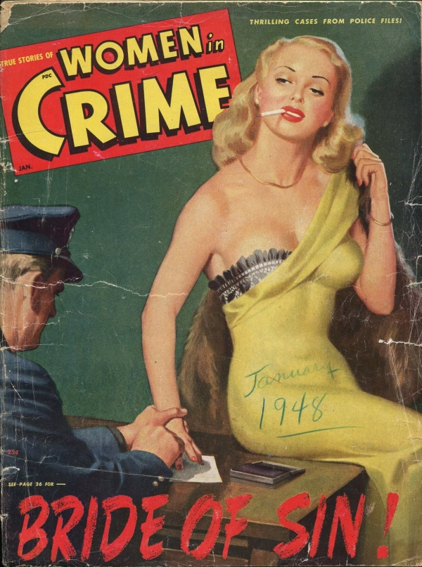 Women In Crime January 1949