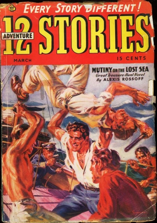 12 Adventure Stories March 1939