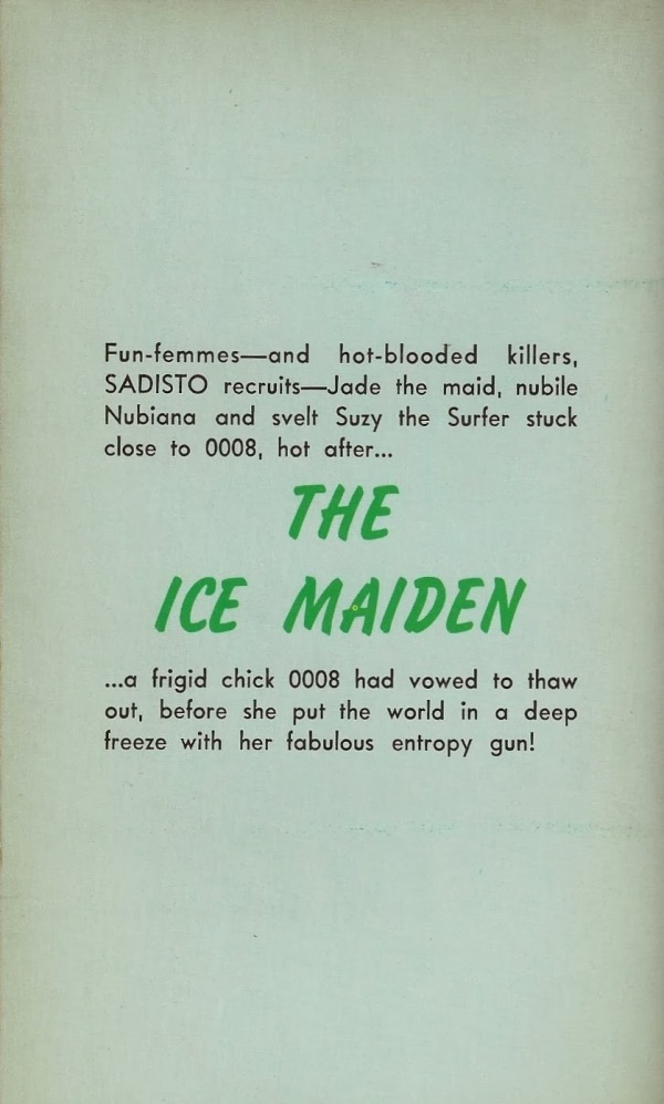 396 Clyde Allison (William Knoles) The Ice Maiden Ember Library 1967