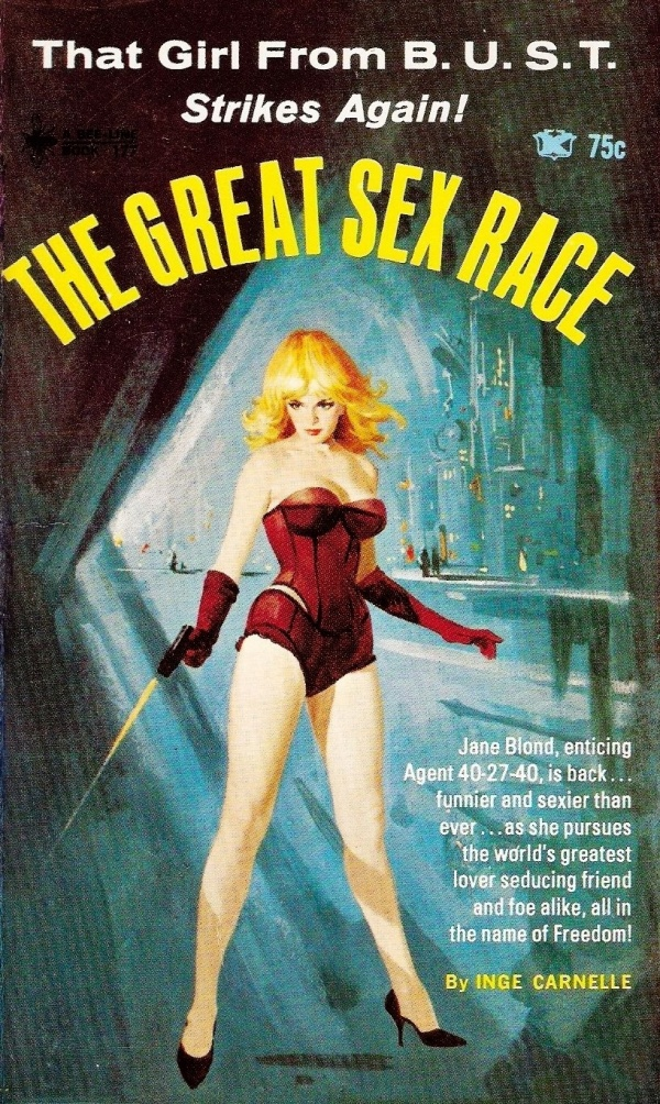 672 Inge Carnelle THE GREAT SEX RACE - BEE-LINE 177 - 1967