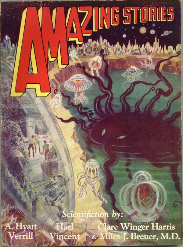 Amazing Stories, December 1929
