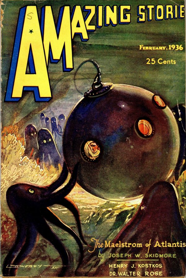 Amazing Stories Magazine February 1936