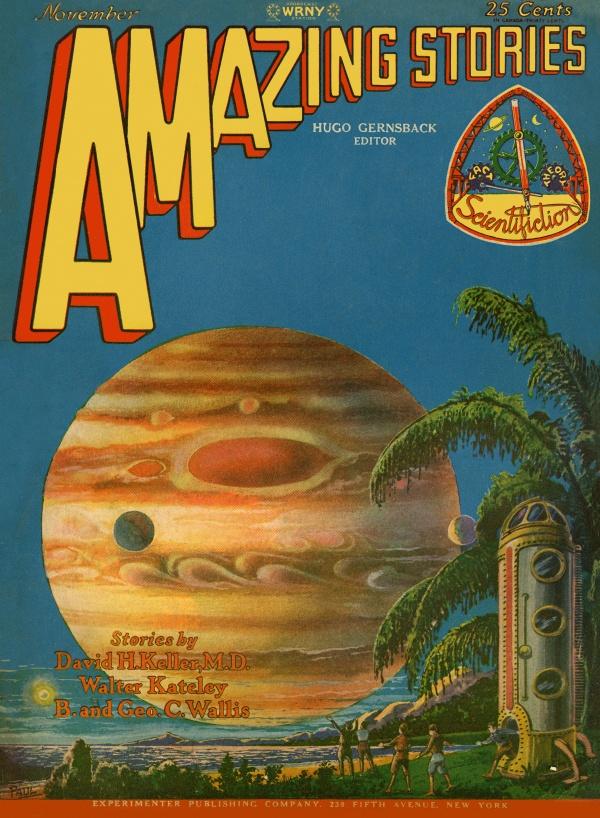 Amazing Stories November 1928