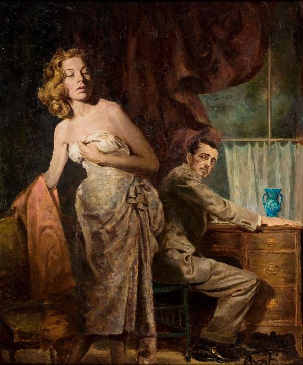 Conjugal Love, paperback cover, 1952