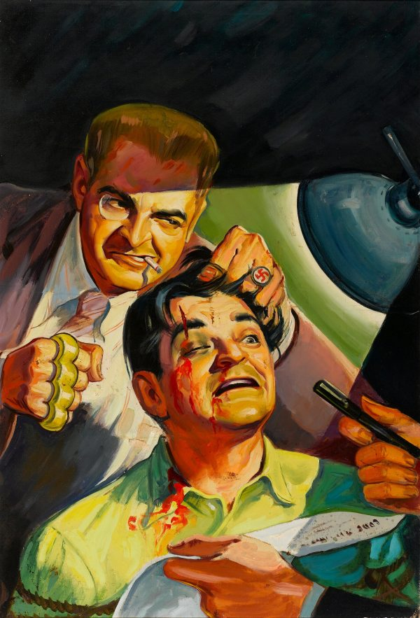 Crack Detective, pulp cover, July 1943