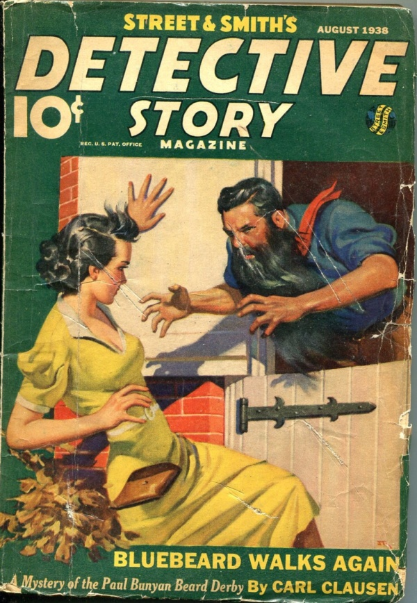 Detective Story August 1938