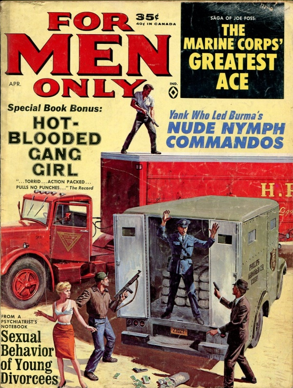 For Men Only April 1964