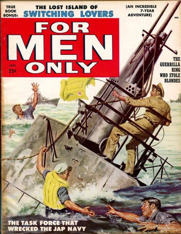 For Men Only January 1958