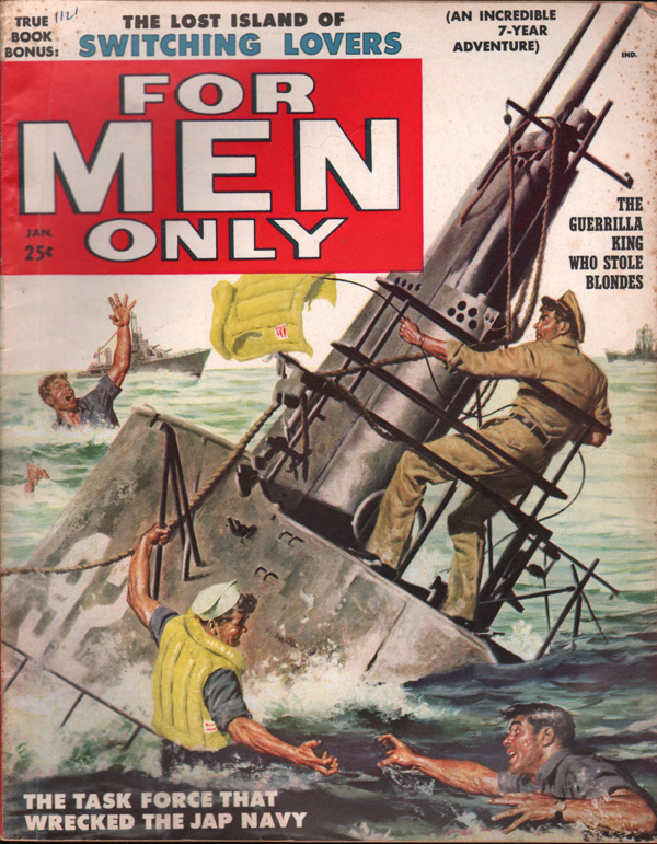 For Men Only Magazine January 1958
