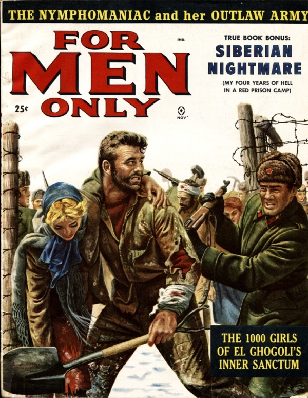 For Men Only November 1958
