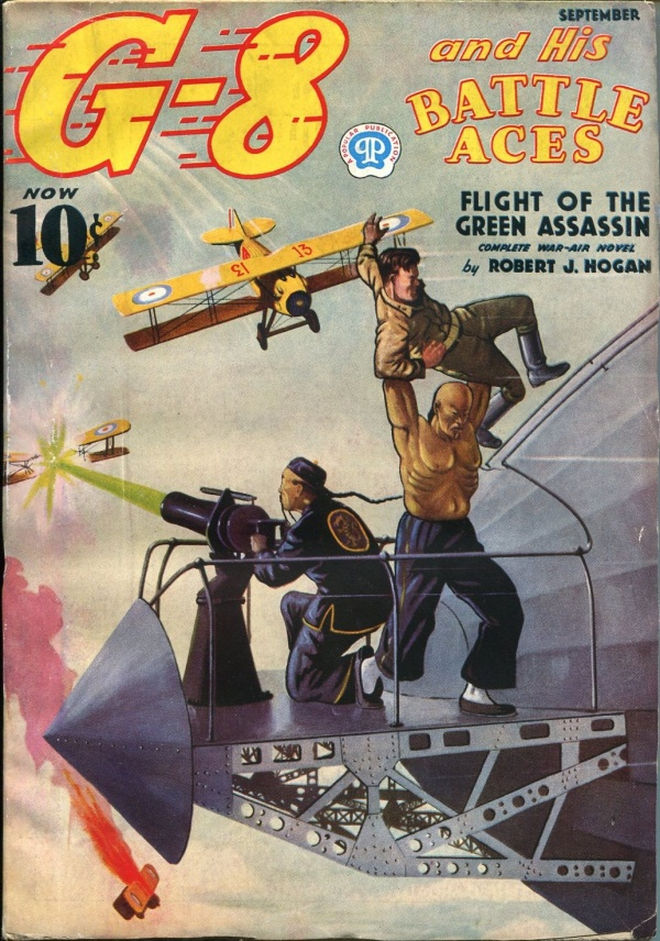 G-8 and His Battle Aces September 1937