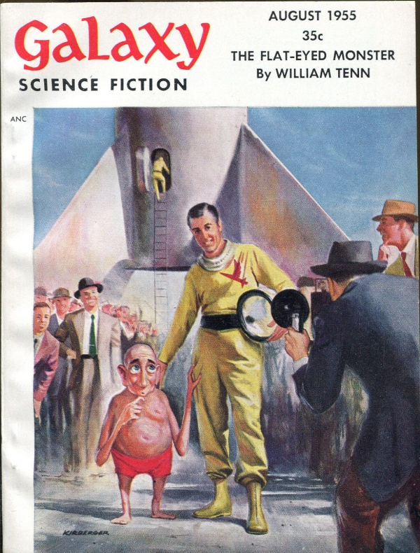 Galaxy Science Fiction August, 1955