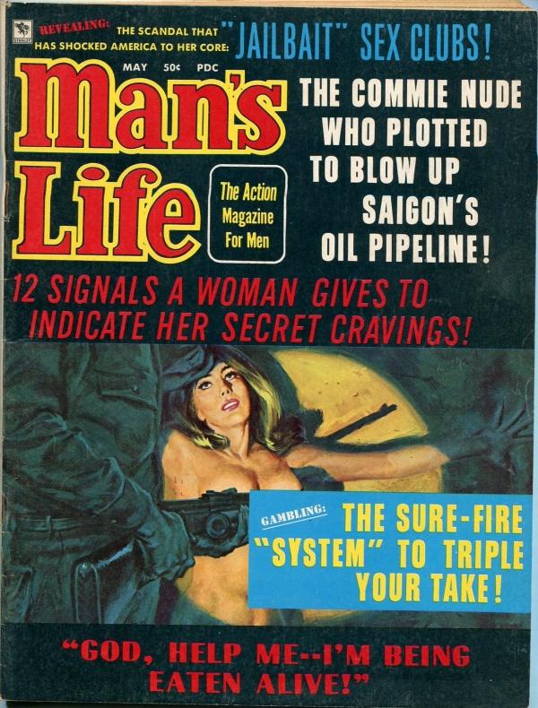 Man's Life May 1970