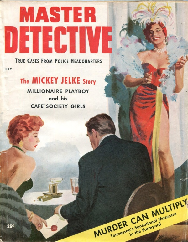 Master Detective July 1955