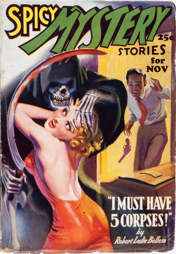 Spicy Mystery Stories - November 1936