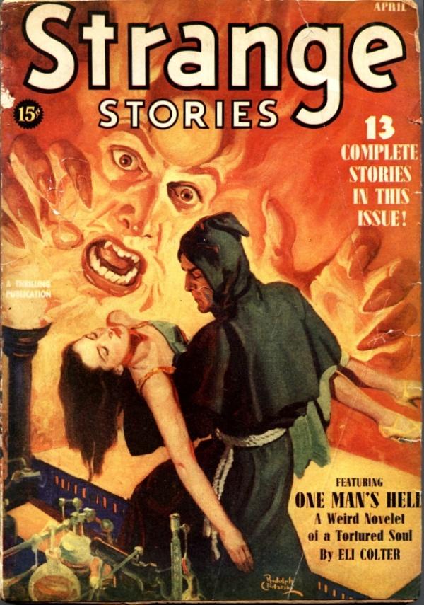 Strange Stories April 1940