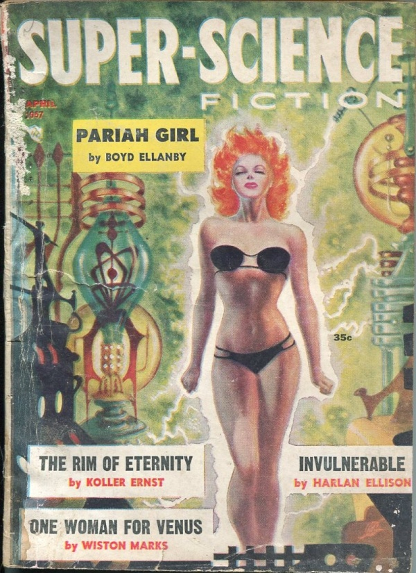 Super-Science Fiction April 1957
