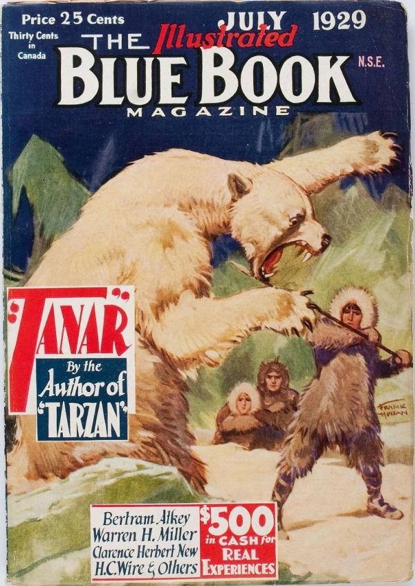 Blue Book - July 1929