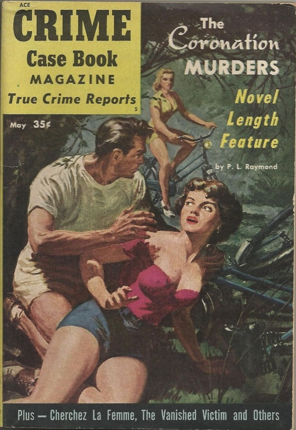 Crime Case Book May 1954