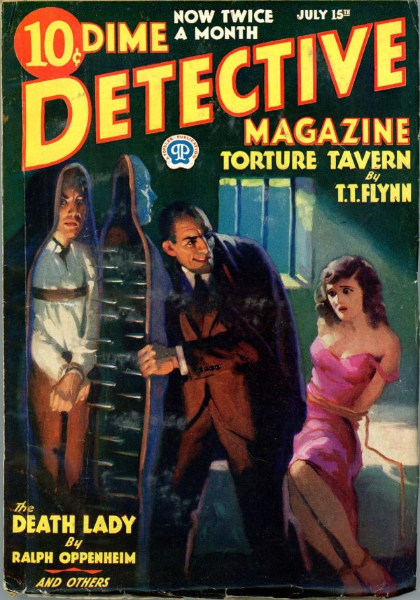 DIME DETECTIVE MAGAZINE. July 15, 1933