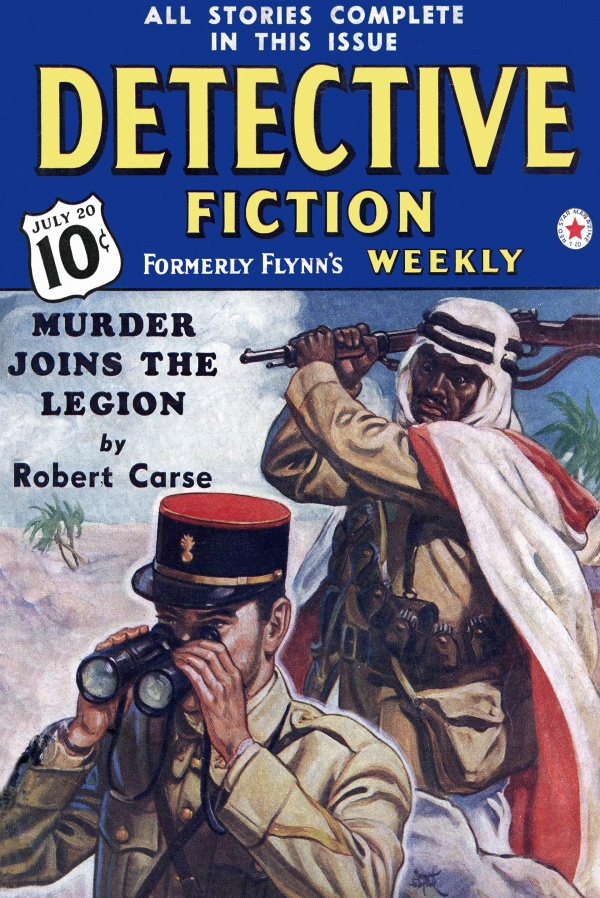 Detective Fiction Weekly July 20, 1940