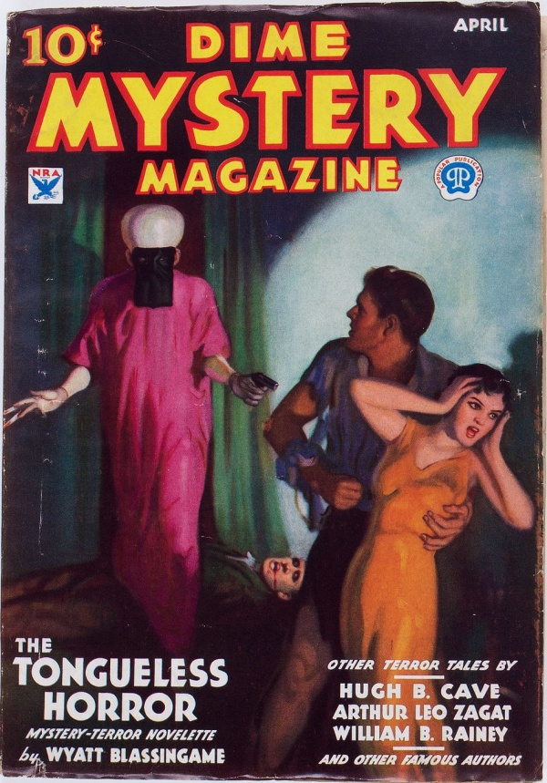 Dime Mystery Magazine - April 1934