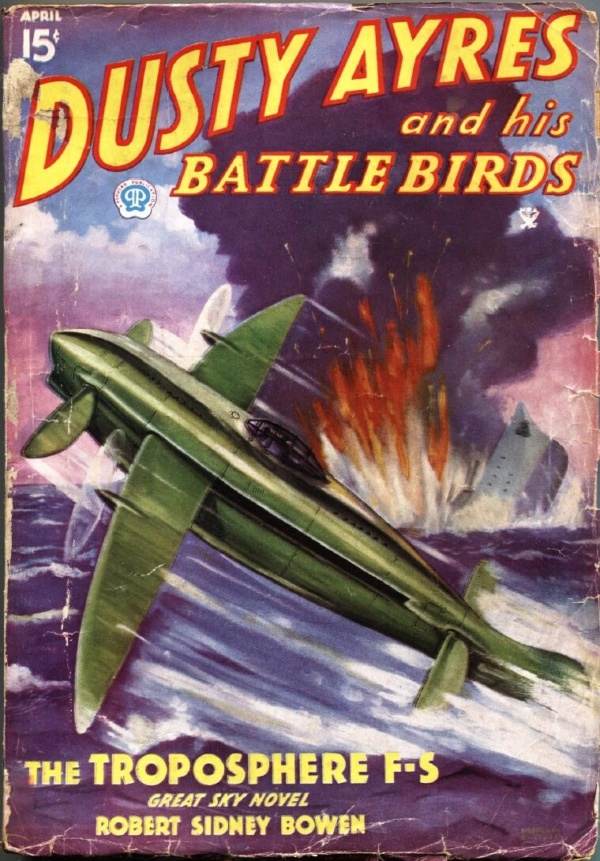 Dusty Ayres And His Battle Birds April 1935