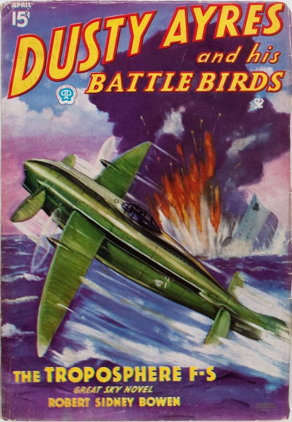 Dusty Ayres and His Battle Birds - April 1935