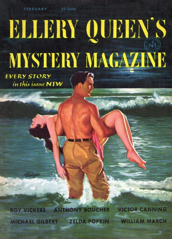 Ellery Queen's Mystery Magazine February 1954