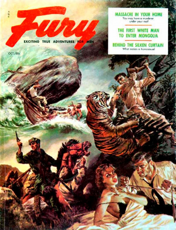 Fury Magazine October 1956