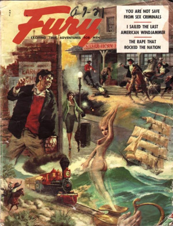 Fury magazine August 1956