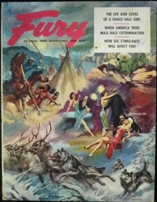 Fury magazine September 1956
