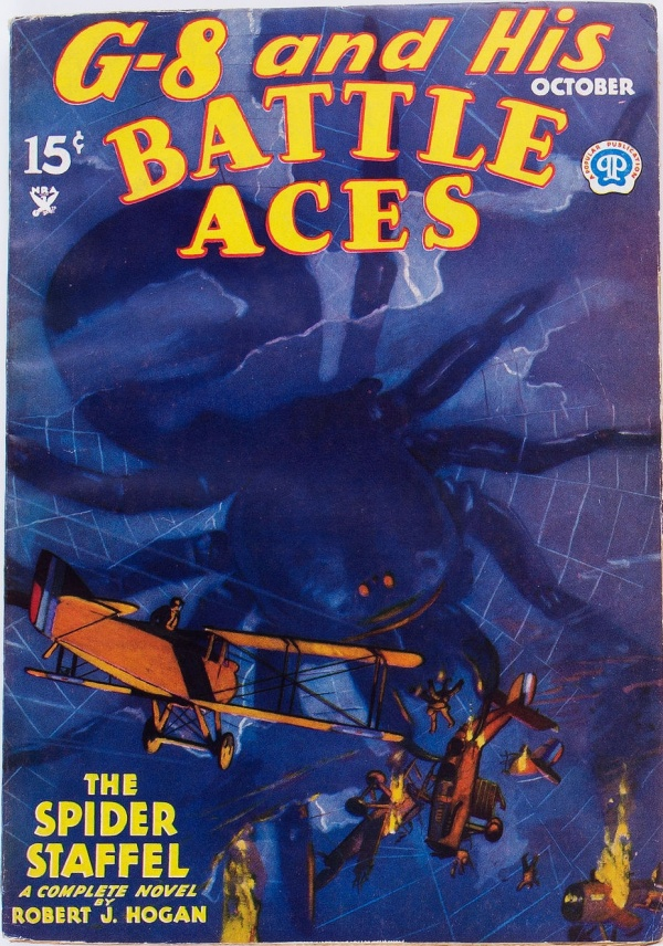 G-8 and His Battle Aces - October 1934
