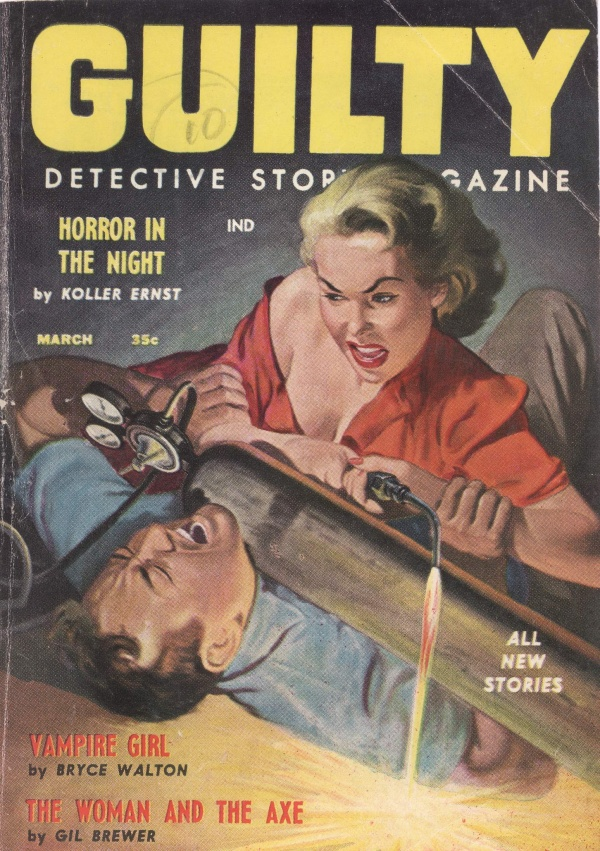 Guilty Detective Story Magazine March 1958