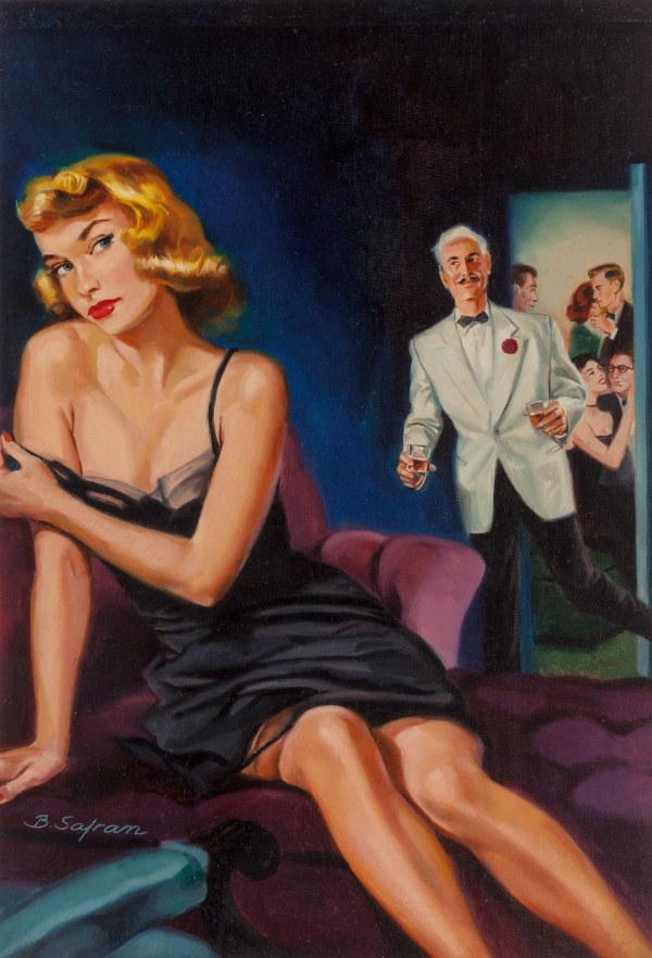 High Priced Party Girl, paperback cover, 1953