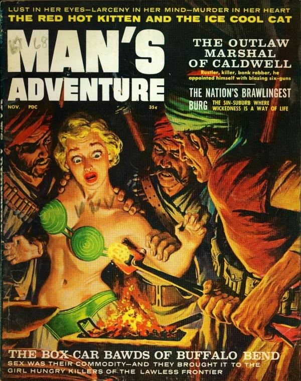 Man's Adventure November 1959