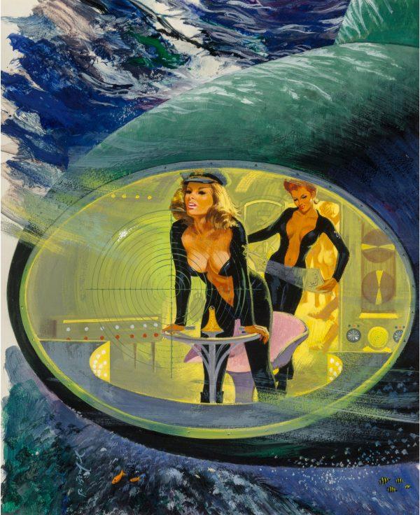 Nautipuss, paperback cover, 1965