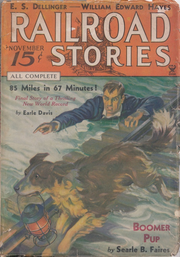 Railroad Stories November 1934