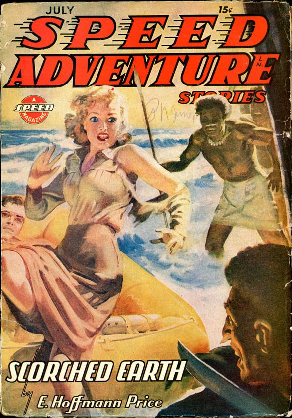 SPEED ADVENTURE STORIES. July, 1944