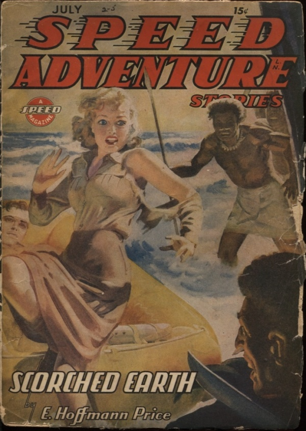 Speed (Spicy) Adventure Stories. 1944 July