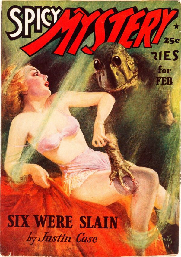 Spicy Mystery - February 1938