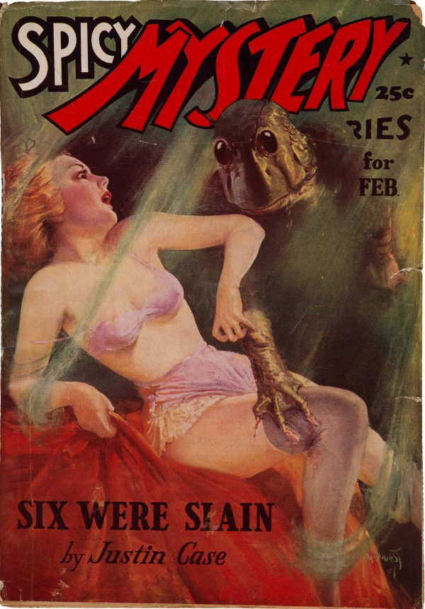 Spicy Mystery Stories - February 1938
