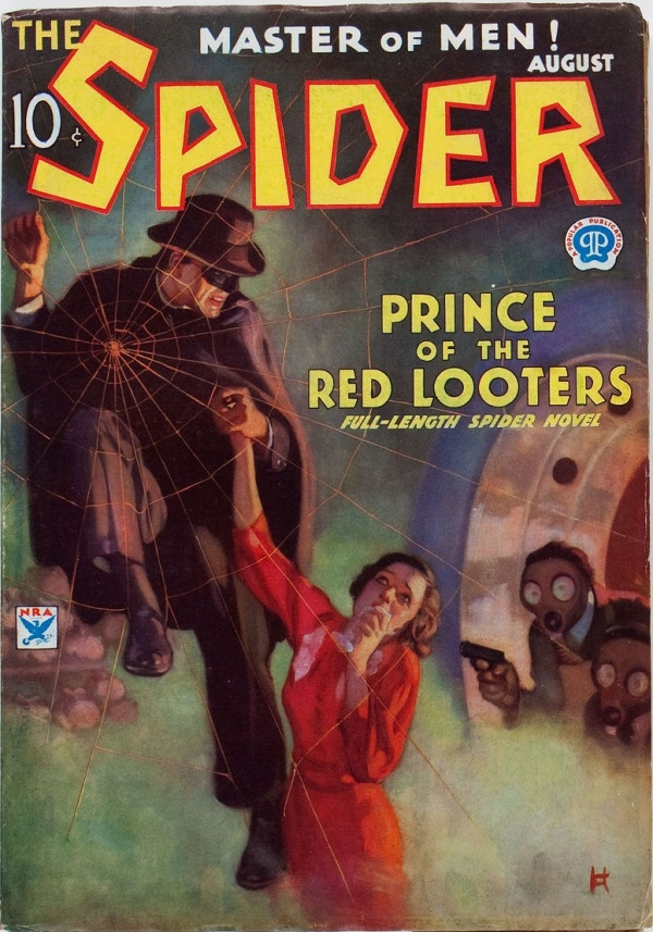The Spider - August 1934